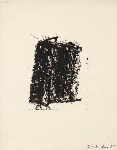 Richard Serra, 'Sketch #2', 1981