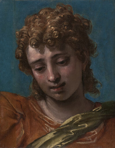 Paolo Veronese, 'Head of Saint Michael, from the Petrobelli Altarpiece', 1562