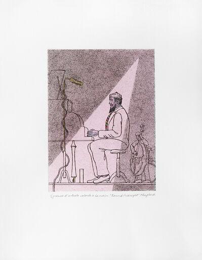 Konrad Klapheck, 'Round about midnight'