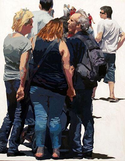 James Oliver (1972), 'Crowd (Composition #19)'
