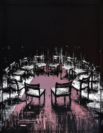 Borondo, 'Coïncidence (Black Version)', 2017