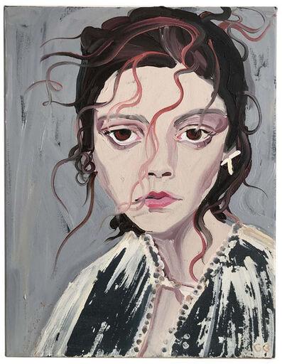 Gill Button, 'Natalie', 2017