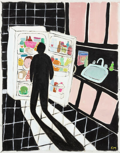 Claire Milbrath, 'Black Kitchen', 2018