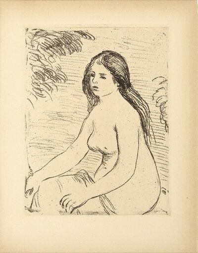 Pierre-Auguste Renoir, 'Femme Nue Assise', 1906