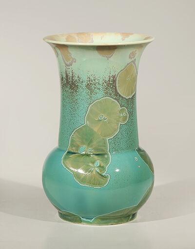 Hongwei Li, 'Zun vase, traced ink splash glaze', 2017