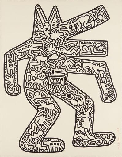 Keith Haring, 'Dog', 1985-1986