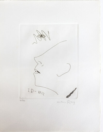 Man Ray, 'Untitled (Portrait of Marcel Duchamp)', 1966