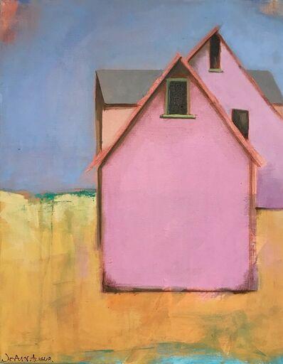 JoAnn Augur, 'Little Pink Barns', 2018
