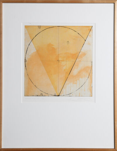 Shoichi Ida, 'Surface is the Between - Descended Triangle No. 1', 1987
