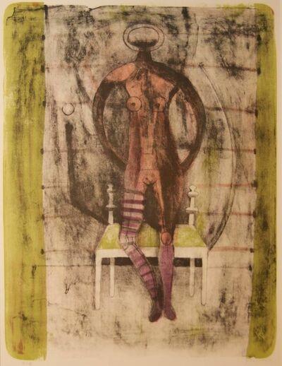Rufino Tamayo, 'Femme au bas Mauves', 1969