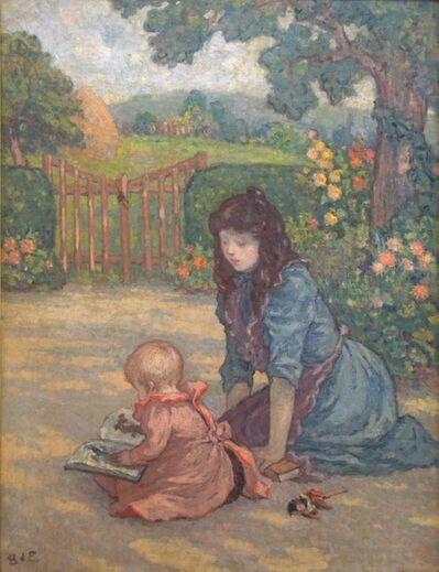 Georges d'Espagnat, 'La Lecture au Jardin', ca. 1898/99