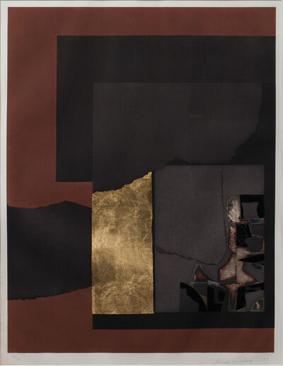 Louise Nevelson, 'Aquatint II, alternatively titled Untitled (54-2), from the series Aquatint & Collage', 1973