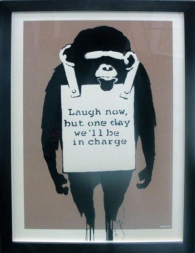 Banksy, 'Laugh Now', 2003