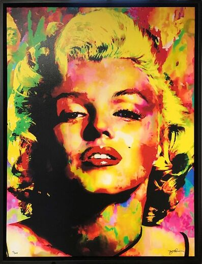 Mark Lewis, 'Limited Edition Giclee 'Relinquished Beauty - Marilyn Monroe' Celebrity Pop Art, Famous People Artwork', 2017