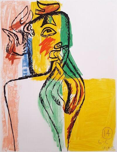 Le Corbusier, 'Unité, Planche 14 (Set of 2)', 1965