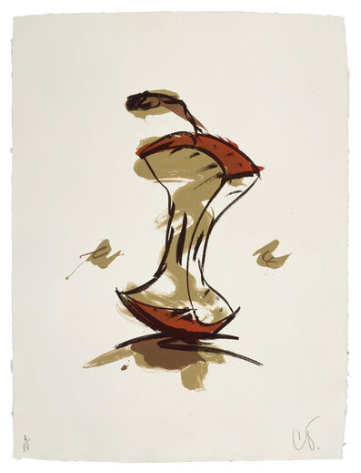 Claes Oldenburg, 'Apple Core - Autumn', 1990