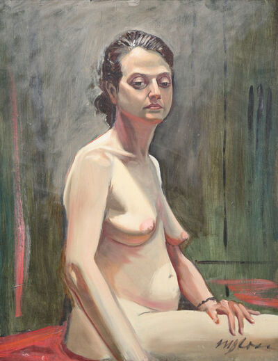 Mark Ross, 'Untitled (Nude Seated)'