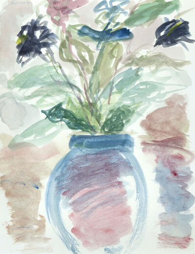 Etel Adnan, 'Fleurs IV', 1989