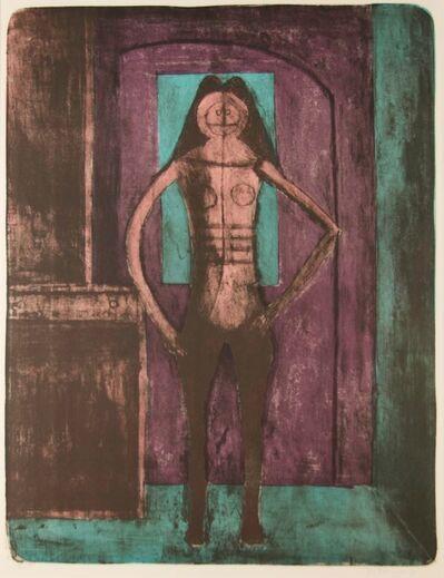 Rufino Tamayo, 'Femme au Collant Noir', 1969