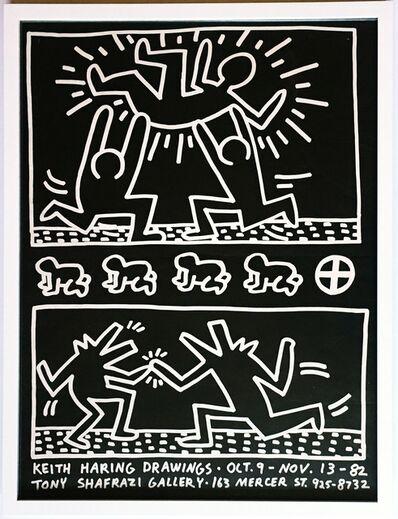 Keith Haring, 'Keith Haring Drawings at Tony Shafrazi Gallery', 1982