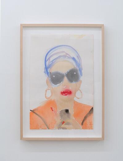 Ann Craven, 'Nina in a Miami Turban #2', 2018