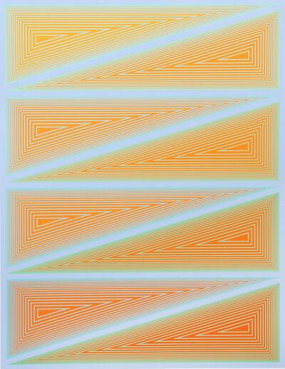 Richard Anuszkiewicz, 'Inward Eye #10', 1970