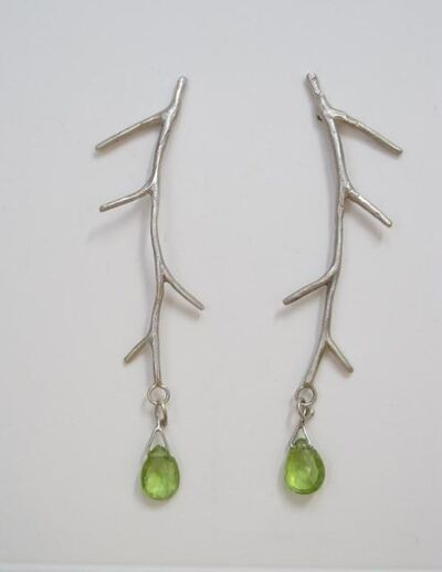 Micki Lippe, 'Earrings 413 posts 2.5 inches long'