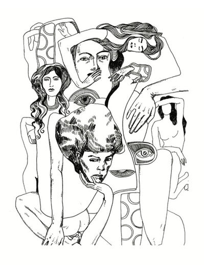 Blanda, 'Ode to Klimt', 2017