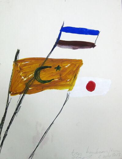 Cristina de Miguel, 'Three Flags', 2013