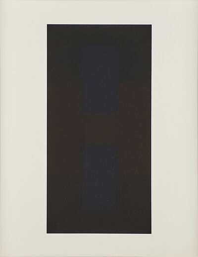 Ad Reinhardt, '# 9 from Ten Screenprints by Ad Reinhardt', 1966