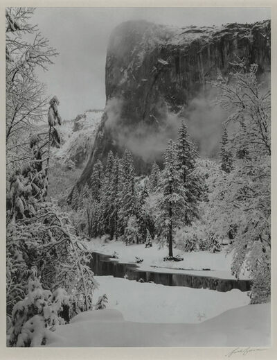 Ansel Adams, 'El Capitan, Winter, Yosemite National Park', 1948