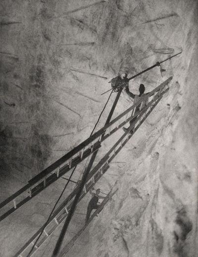 Harold Haliday Costain, 'Stygian Flight, Avery Island, Louisiana, Illustration for International Salt', 1935