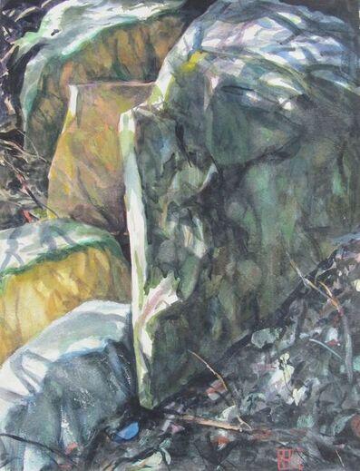 Richard Estell, 'Blue Stone', 2015