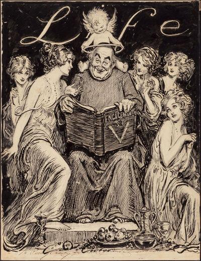 Charles Dana Gibson, 'Engagements, Saint Valentine, LIFE Magazine Illustration', 1920-1929