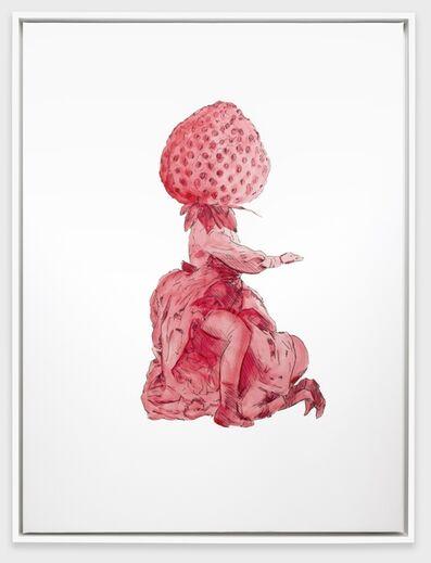 Mieke Marple, 'Erotic Garden (Strawberry)', 2018