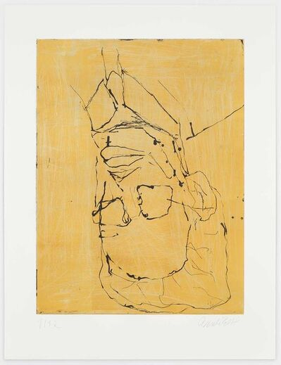 Georg Baselitz, 'Rothko II (Yellow)', 2018
