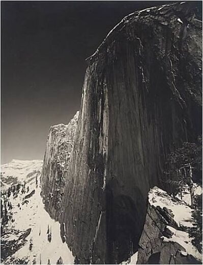 Ansel Adams, 'Monolith, The Face of Half Dome, Yosemite Valley', ca. c. 1927