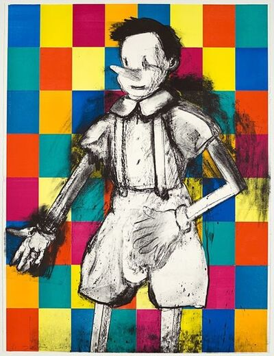 Jim Dine, '64 Blocks', 2009