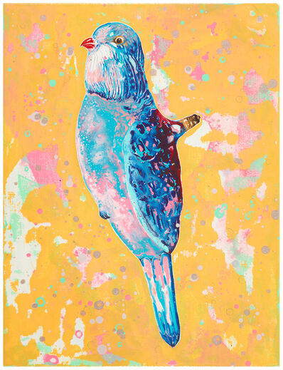 Wang Liang-Yin, 'Figural Light – Bird with Red Beak', 2016