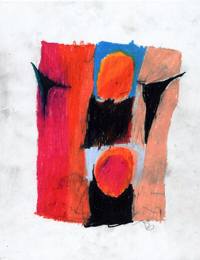 Joseph Hart, 'Untitled (Blood Orange Study)', 2018