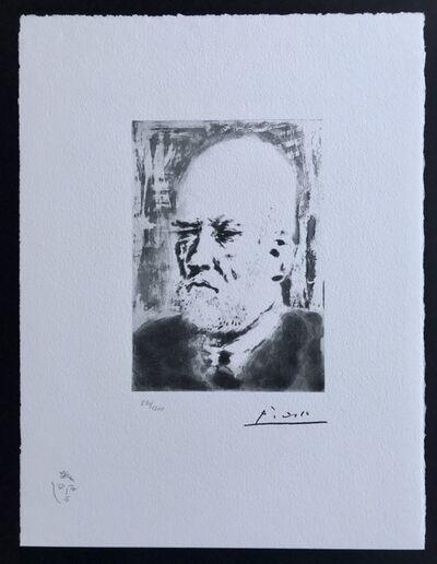 Pablo Picasso, 'Portrait de Vollard', 1973