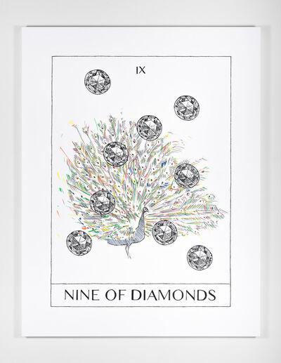 Mieke Marple, 'Nine of Diamonds (Culmination)', 2018