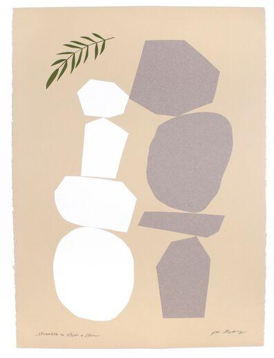 RF Alvarez, 'Monolith and White Stone', 2019