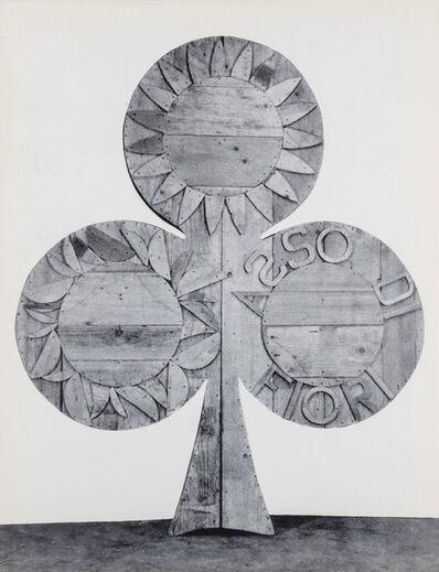 Mario Ceroli, 'Ceroli', 1964