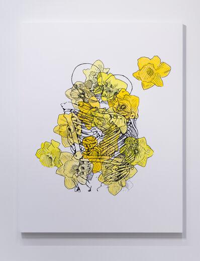 Mieke Marple, 'Eternal (Kissing/Daffodils)', 2019