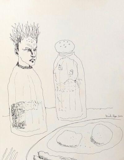 Mindy Alper, 'Untitled (fried eggs, salt & pepper)', 2006