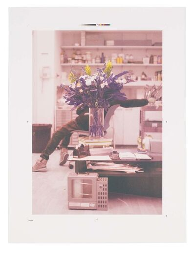 Ryan Gander, 'Portrait of a blind artist obscured by flowers', 2014