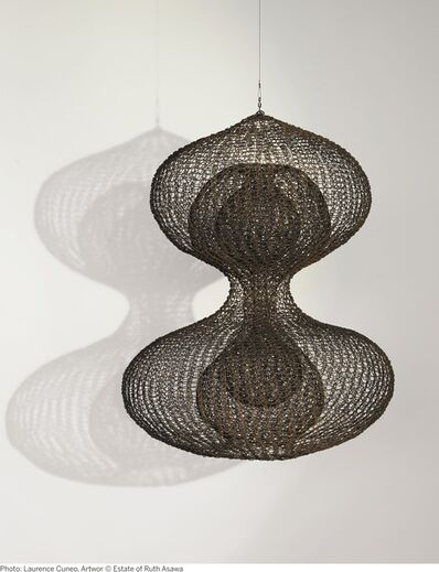 Ruth Asawa, 'Untitled (S.797 Hanging Double-Lobed, Three-Layer Continuous Form within a Form)', circa 1954