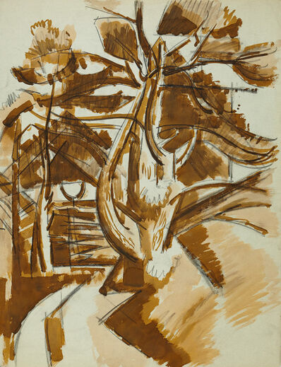 Herbert Barnett, 'Rockport Dooryard [Rockport, MA]'