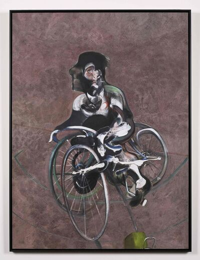 Francis Bacon, 'Portrait of George Dyer Riding a Bicycle (Q1B)', 1966